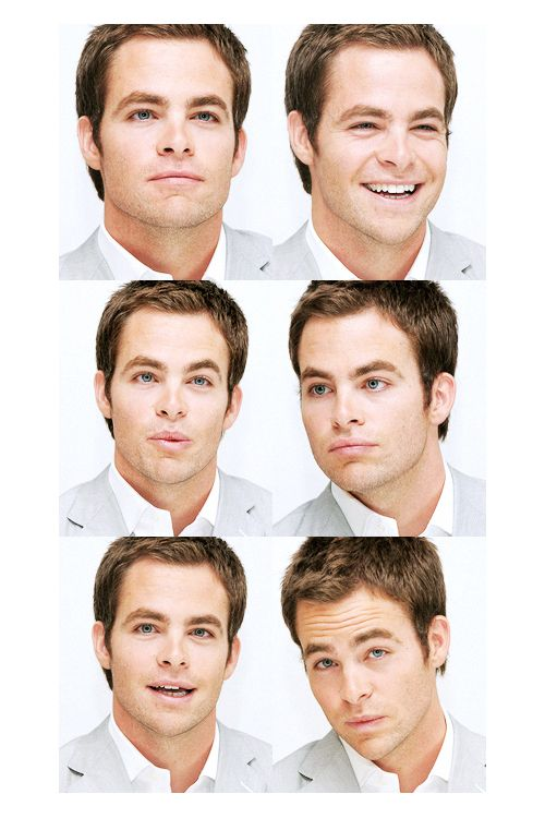 Chris Pine. I'm not sure he can take a bad picture! Haha