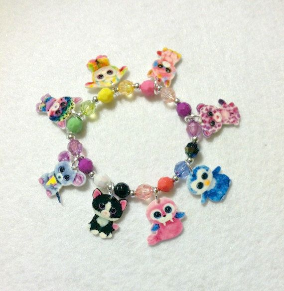 Beanie Boos Charm Bracelet Beanie Boos by Made4UBySisters2 on Etsy