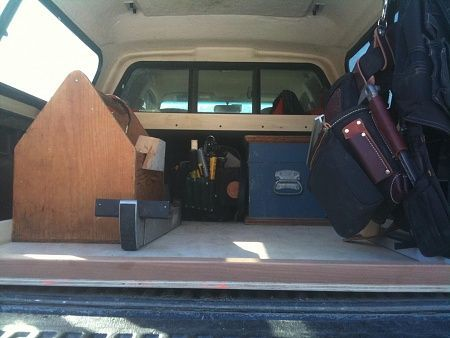 Truck bed slide - very simple