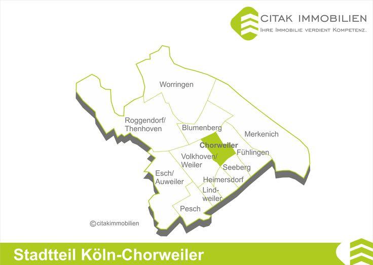 Stadtteile der Stadtbezirk Köln-Chorweiler