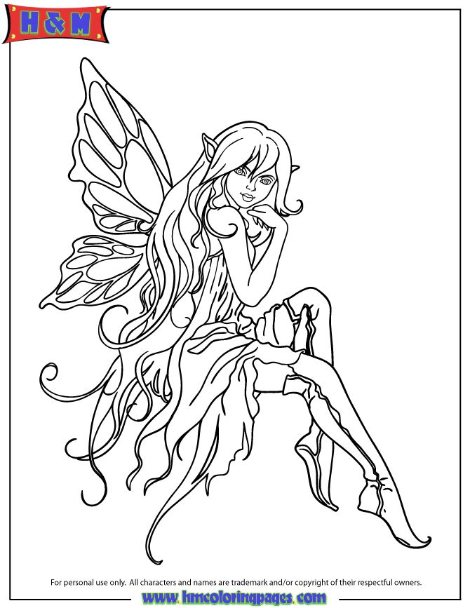 pretty fairy coloring pages pretty manga fairies colouring