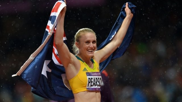 Olympics 2012 athletics: Sally Pearson takes 100m hurdles gold