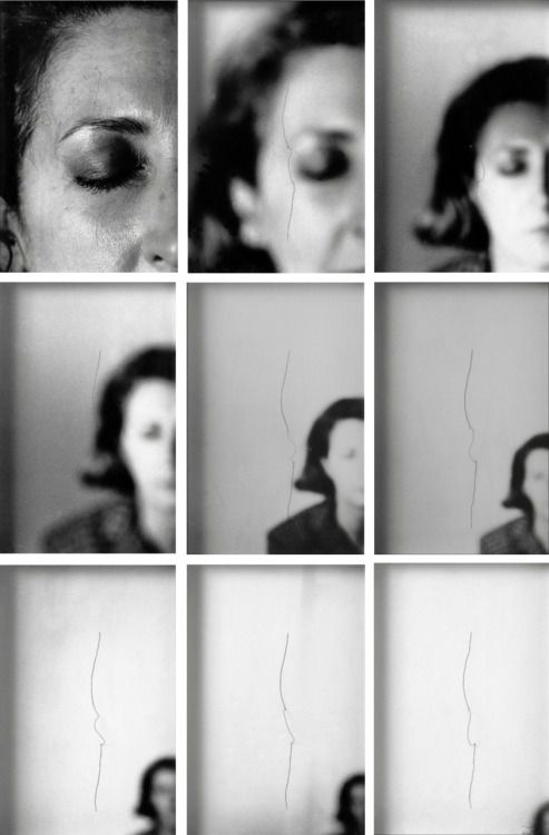 artspotting: Helena Almeida Sente me 1979 screenshots via...