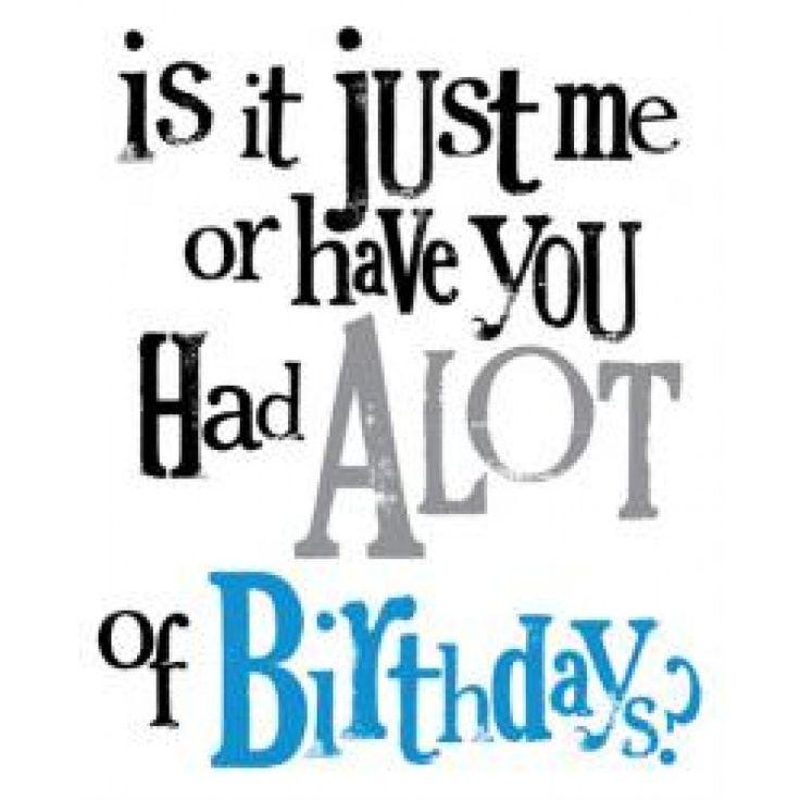 A LOT of Birthdays - Birthday Card