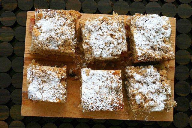 rhubarb big crumb coffee cake - smitten kitchen