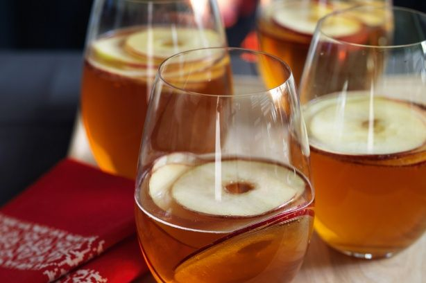 Wassail (Spiced cider), with a splash of warming brandy, this apple-flavoured brew helps fire up the appetite.