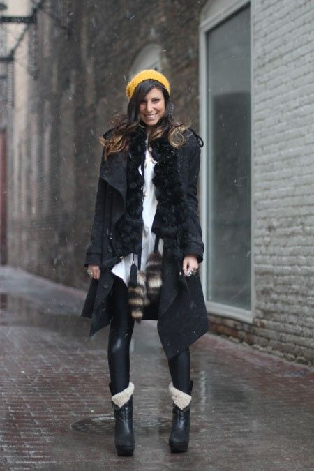 Chicago's Best Winter Street Style In 25 Chic Snaps…