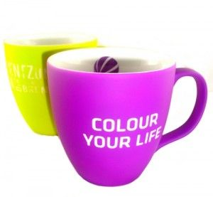Soft-Touch Tassen - Werbetassen... Soft Touch Mugs promotion items.. Werbeartikel aus unserem Sortiment..