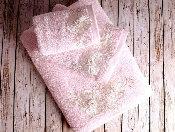 Luksusowy ręcznik Fleur 50x90 cm