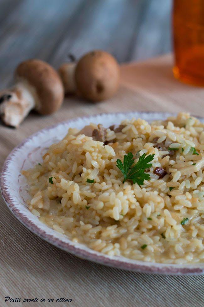 Il #risotto alla norcina ha un gusto incredibile