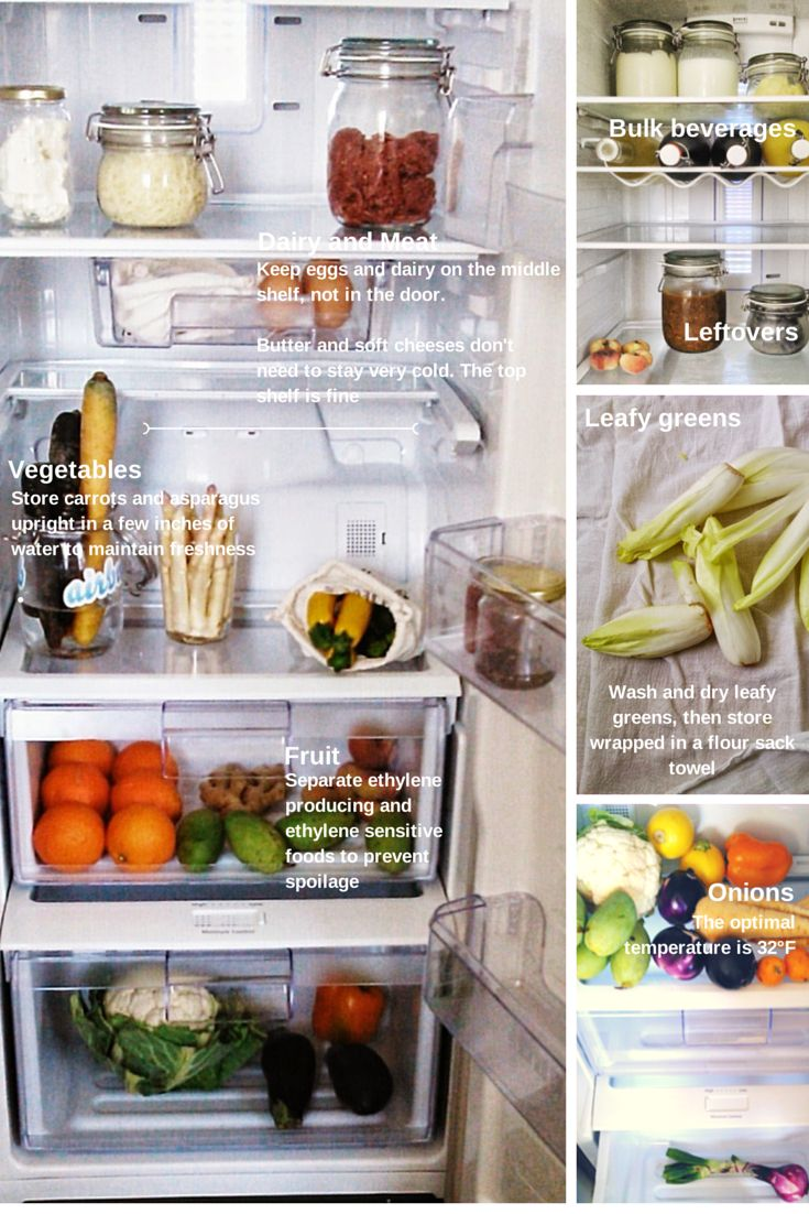 The ultimate list on how to store food to keep it fresh longer and reduce waste