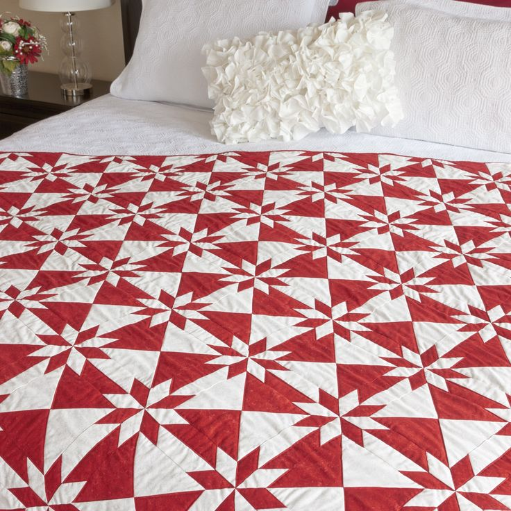 """This pattern is included on the packaging of the die GO! Hunter Star-6"""" Finished (55166)The Hunter Star is a quilters favorite. The GO! Festive Hunter Star Quilt is perfect for the holidays. Once you see how easy it is to cut these complex blocks with AccuQuilt fabric cutters, you'll be ready to make a few!>strong>Fabric provided by NorthcottCompatible with these fabric cutters:GO! BabyGO!Studio**Must use with GO! Die Adapter"""