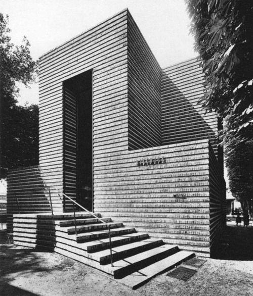 ro-w:    danish pavilion, 'exposition internationale des arts decoratifs et industriels modernes' paris 1925, by architect kay fisker