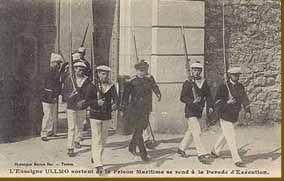 """"""" Ce triste scandale encore appelé l'affaire Ullmo, se sera déroulé en grande partie à Toulon, port de la Royale, ville de jeux, de filles et d'opium, entre le déplorable complot contre DREYFUS et la guerre de 1914. Pour l'amour d'une fille ensorceleuse..."""