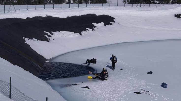 #Buceo en hielo #sort #pirineos #diving