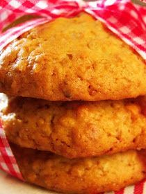 Cocinamiga: Galletas de avena y miel - sin leche, sin huevo, sin frutos secos, sin soja
