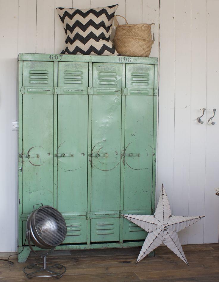 Design Vintage   Industrial French Lockers   Metal Lockers