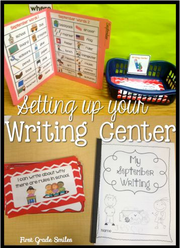Setting up your Writing Center and a Sale