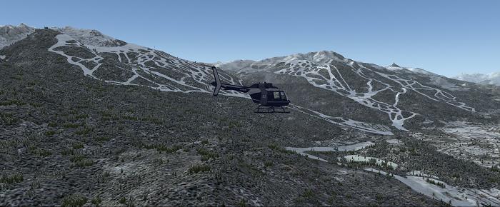 Station de ski de Whisler, Rocheuses Canadienne