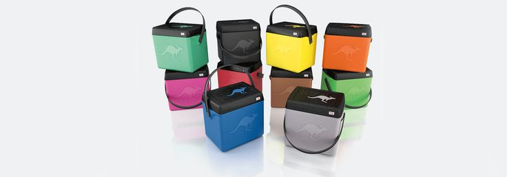 KangaBox, the new Insulated Food Carriers! The #KangaBox Trip family is solid and stylish, great picnic carriers. Go to the beach with colorful food carriers!