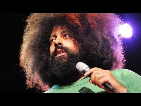 Reggie Watts is more than music, more than comedy. And I can't stop watching him.
