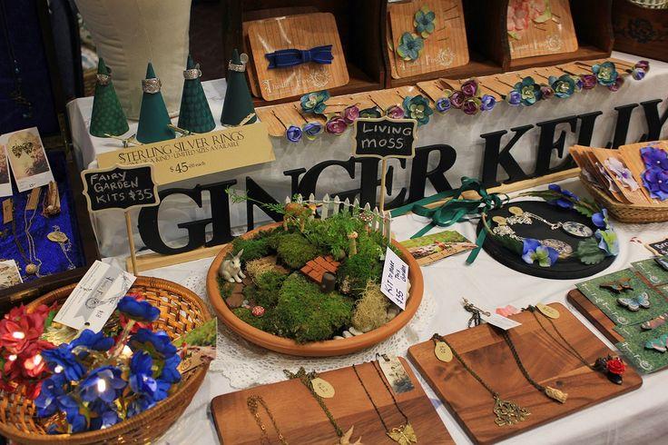 Ginger Kelly Studio: craft stall display