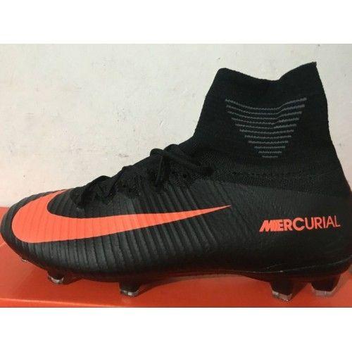 Comprar Nike Mercurial Superfly V FG Blanco Naranja Online Botas De Futbol