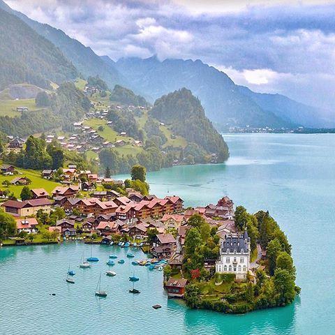 Iseltwald, Switzerland | Photography by © Senai Senna (@sennarelax) #earthofficial