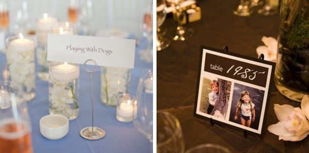 Unique Table Name Ideas | SouthBound Bride