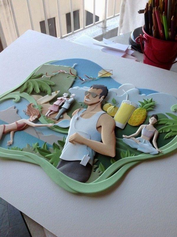 http://www.behance.net/gallery/RIO-Paper-sculptures/6792637