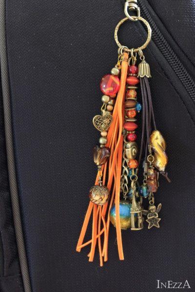 Taschenanhänger – MärzErwachen Taschenbaumler Anhänger bronze – ein Designers…
