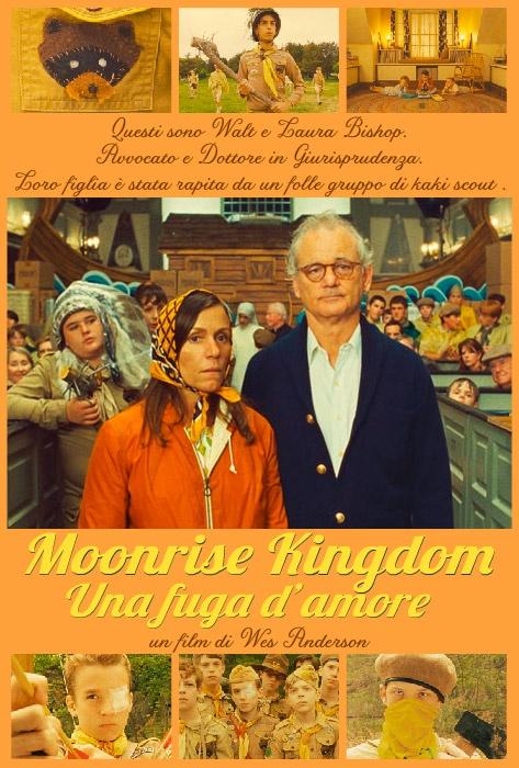 Il poster dedicato ai coniugi Bishop (Frances McDormand e Bill Murray)