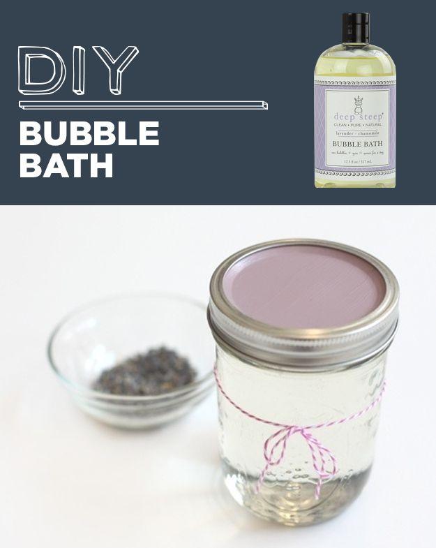 Espuma de banho caseira | 31 produtos para a casa que você nunca precisará comprar novamente