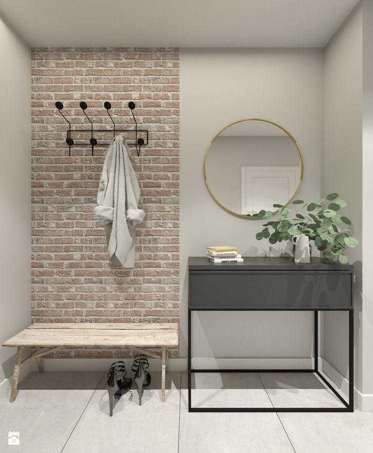 Mieszkanie w Warszawie - Hol / przedpokój, styl industrialny - zdjęcie od 3deko
