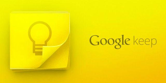 Google Keep 雲端記事本,速記一閃即逝的想法思緒