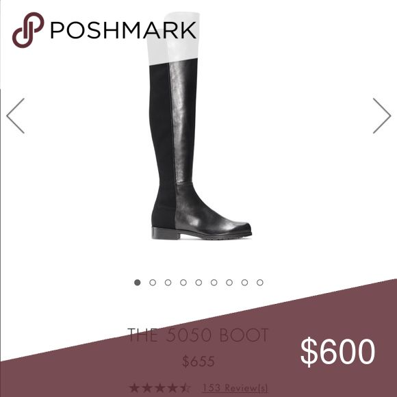 Stuart Weitzman 5050 Boot Napa Leather 8.5 Worn maybe once, does not include dust bag or box. In great condition Stuart Weitzman Shoes Over the Knee Boots