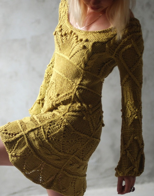 can someone knit this for me...I can't afford the $455 and I LOVE this sweater dress!!