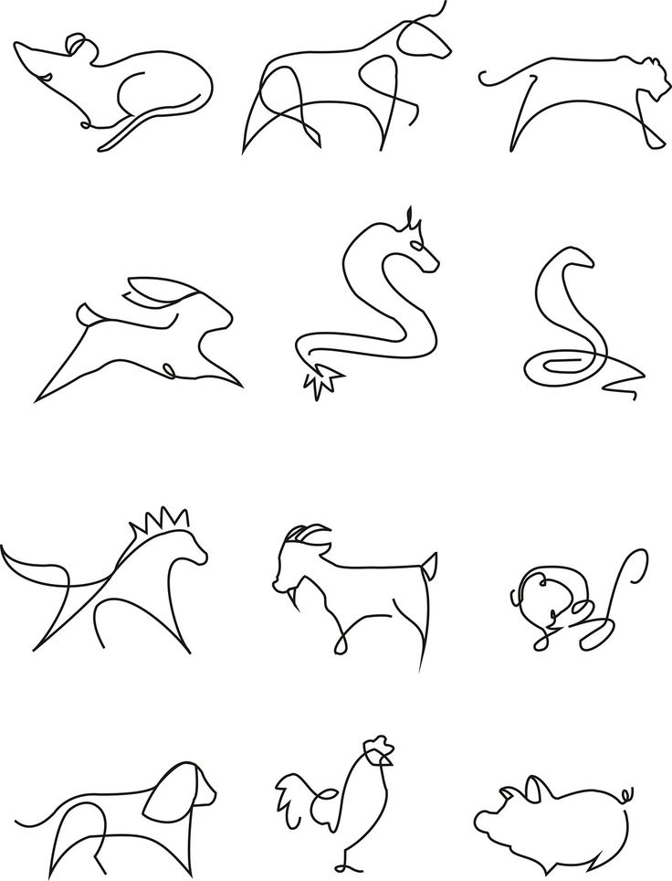 My students' work(Class 1404) : twelve Chinese zodiac on Behance