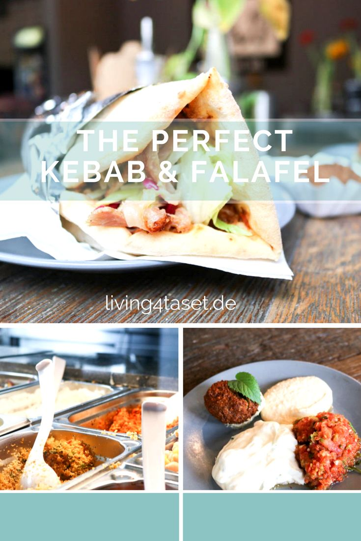 You want to know how a really delicious, kebab tastes? Or a falafel that is homemade and totally fresh? We found it out!