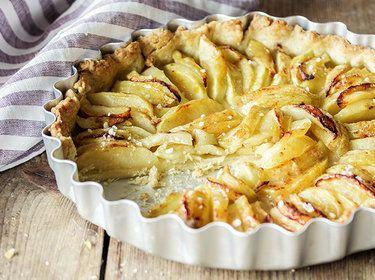 Französische Apfel-Tarte