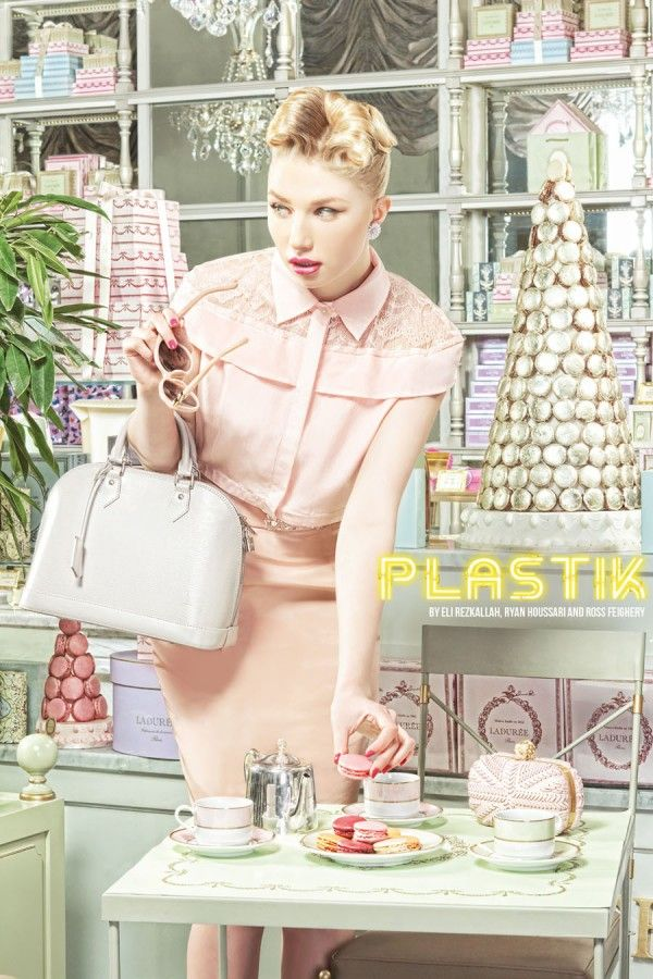 """The Spring Ladies Club"" in Plastik Magazine by Eli Rezkallah, Ryan Houssari and Ross Feighery. August 2012"