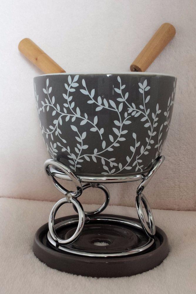 Elegant Restposten Fondue Sets Metall Keramik