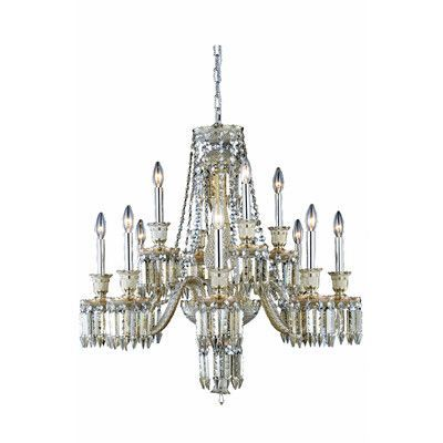 Majestic 12 Light Crystal Chandelier - http://chandelierspot.com/majestic-12-light-crystal-chandelier-604566032/