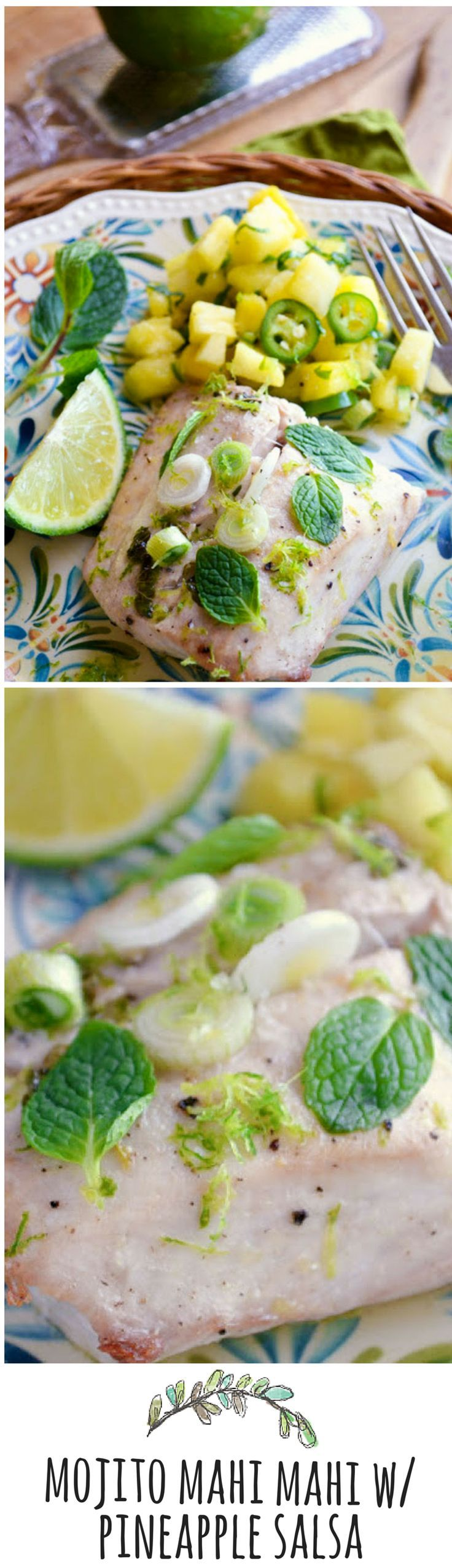 A quick and easy tropical weeknight dinner!