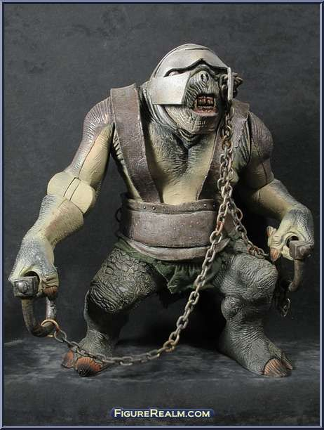 Armored Troll from Lord of the Rings - Two Towers - Large Electronic Figures manufactured by Toy Biz [Loose]