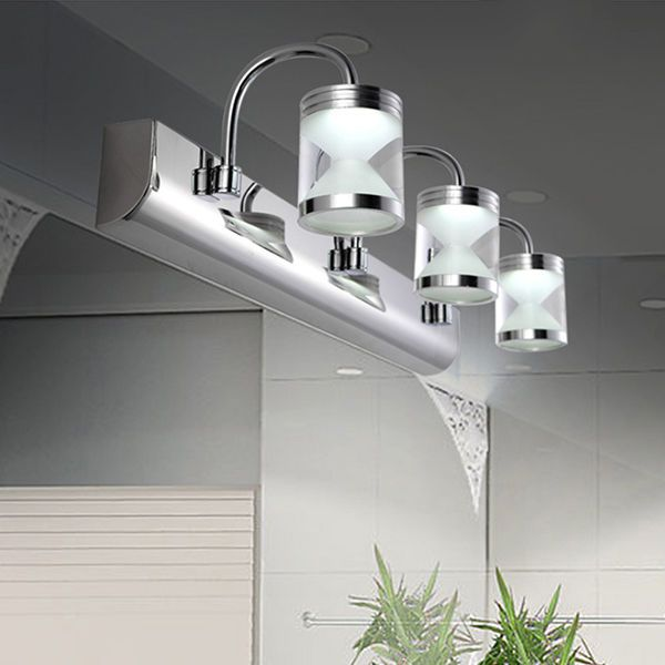 Modern Wall Light For Bathroom: Modern Bathroom Acrylic 3*3W LED Mirror Front Light Make