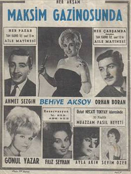 Maksim Gazinosu afişi