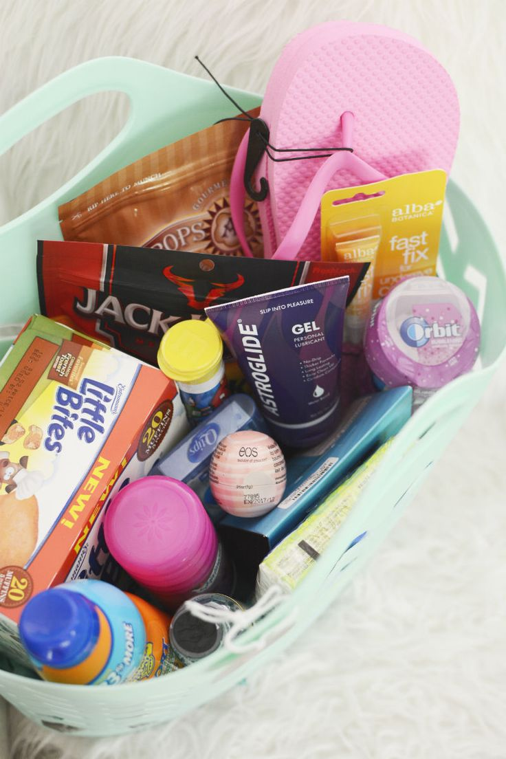 Honeymoon Gift Basket. Create the basket based on a theme of the bride and grooms planned honeymoon