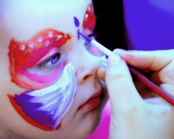 Maquillaje infantil, 5 ideas con v�deos paso a paso