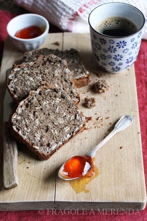 Linen soda bread: pane rapido con farina di semi di lino (una ricetta da FRAGOLE A MERENDA